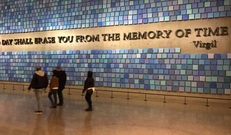 Accessibility for the Blind/Visually Impaired: 9/11 Memorial & Museum NYC