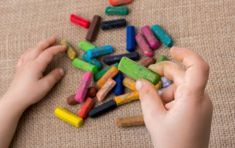 Used Crayons: A School Supply Story
