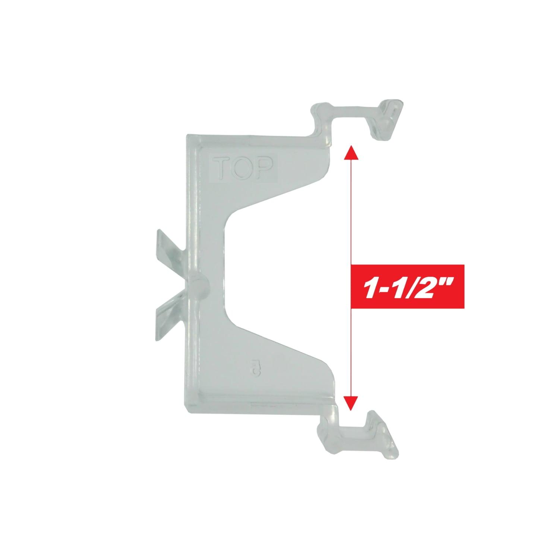 1 1 2 Levolor Hidden Valance Clip