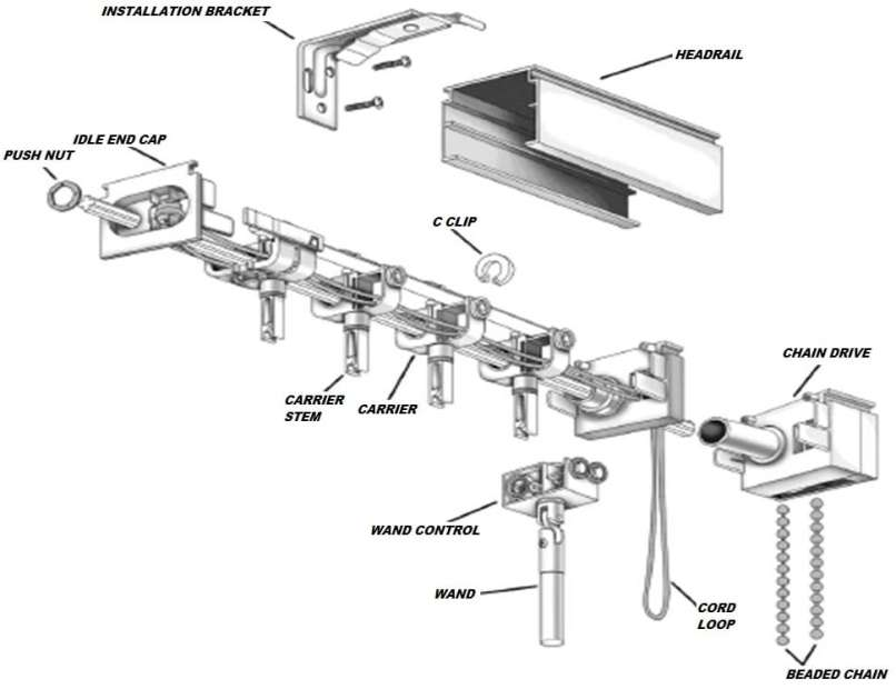 Vertical Blind Repair Parts Fix Your