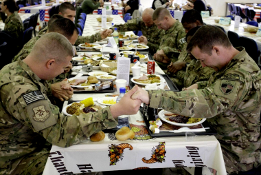 A Soldier's Thanksgiving in Afghanistan