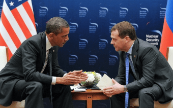 "Clueless President Obama to Russian President Dmitry Medvedev March 2012, ""This is my last election and after my last election I have more flexibility""; two years later the Russians invade Crimea"