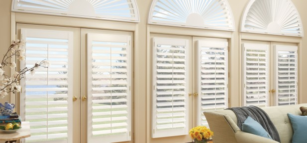 Blinds BeautifulSpecial Shaped Window Coverings  Blinds