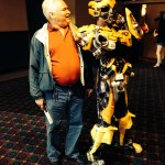 Jay meetings Bumblebee