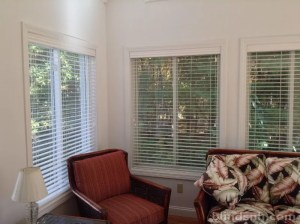 "2"" faux wood blinds"
