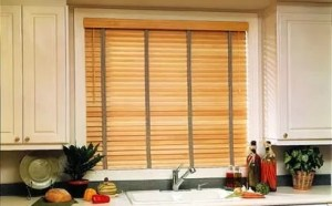 "2"" Wood Blinds with Cloth Tape"