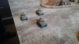 10 - Shermans advance right flank