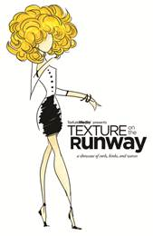 texture on the runway logo