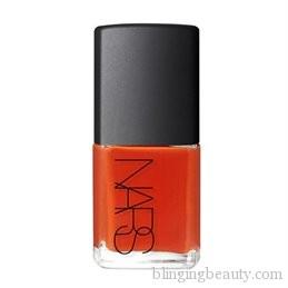 Thakoon for NARS Nail Polish LaiMirchi Mandarin red