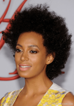 Solange Knowles attends the 2012 CFDA Fashion Awards at Alice Tully Hall on June 4, 2012 in New York City head shot