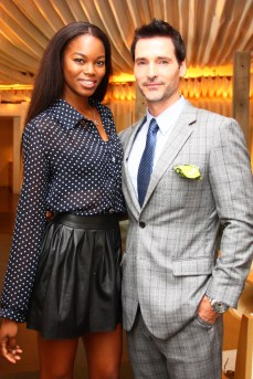 Host Eugena Washington and Todd Anthony Tyler