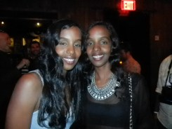 Mataano designer sisters at Destination Iman launch party September 7. 2012 at the Electric Room Dream Hotel NYC