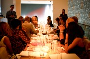 Top Model invades Top Chef Morimoto's Restaurant to Kick Off New York Fashion Week