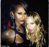 Iman and Rachel Zoe at Destination Iman Launch Party September 7 2012