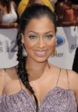 LaLa Anthony fishtail braid