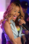 keke palmer new blond hair