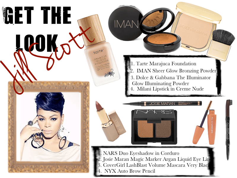 Get the Look Jill Scott layout
