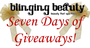 seven days of giveaways