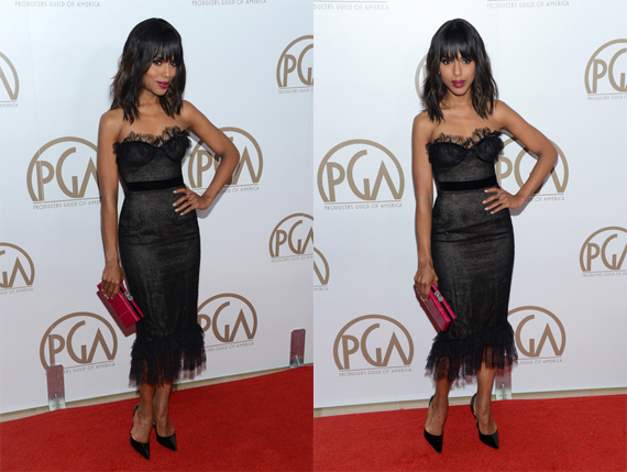 Kerry+Washington+2013+Producers+Guild+Awards