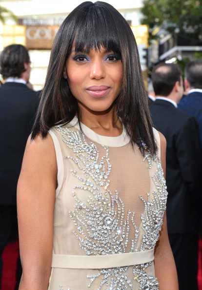 "NBC's ""70th Annual Golden Globe Awards"" - Red Carpet Arrivals Kerry Washington"