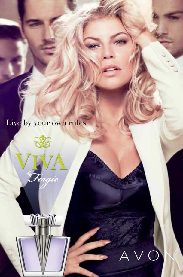 Fergie Viva Avon Fragrance Launch 1