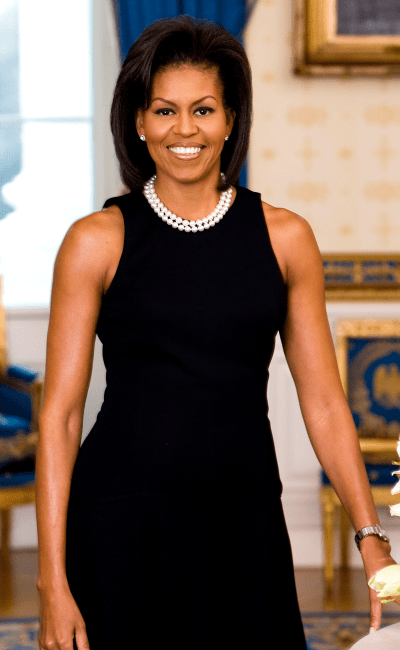 Michelle Obama first official portrait