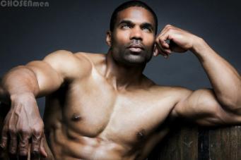 LA3 the Model in Chosen Men Magazine Shoot courtesy of LA3 the Model Facebook