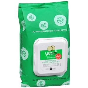 Yes to Cucumbers Hypoallergenic Facial Towelettes -