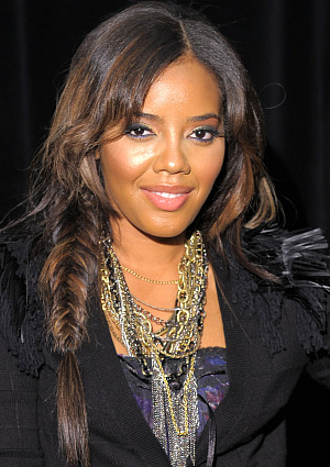 angela simmons fishtail braid