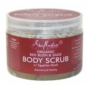 Shea Moisture Organic Red Bush & Sage Body Scrub