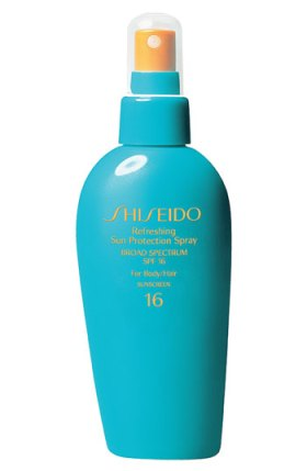 Shiseido Refreshing Sun Protection Spray for Body & Hair Broad Spectrum SPF 16