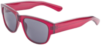icu eyewear red frames 21.95