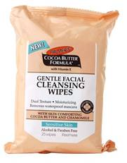 palmers facial cleansing  wipes