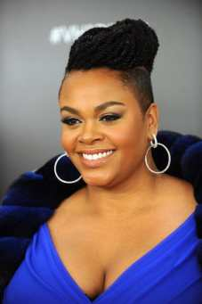 Jill Scott braided updo