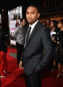 Trey Songz attends the premiere of Fox Searchlight Pictures' 'Baggage Claim'