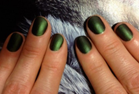 green nails fall 2013