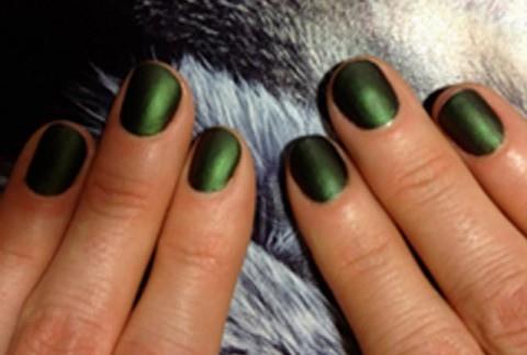 green nails fall 2013