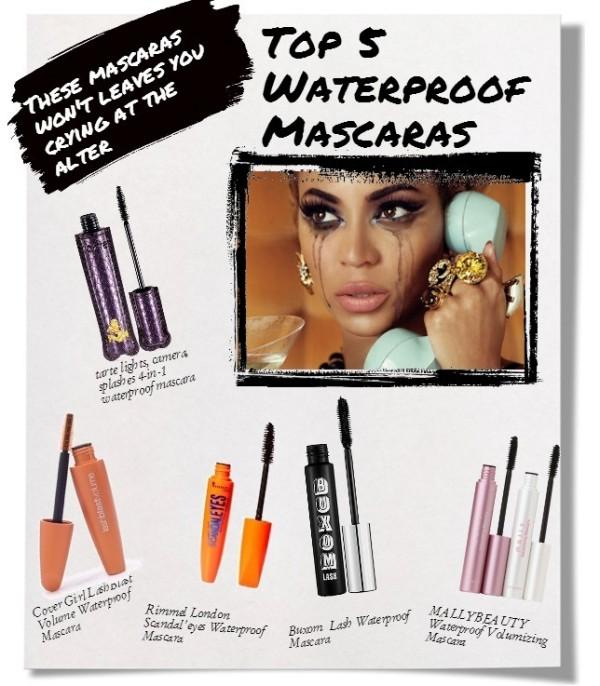 waterproof mascara layout use