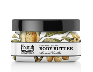 Nourish Organic Body Butter Almond Vanilla