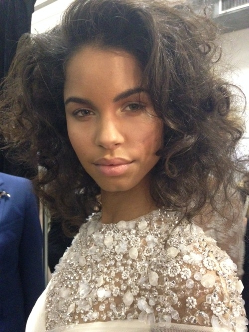 Jenny Packham 2014 bridal runway hair styles