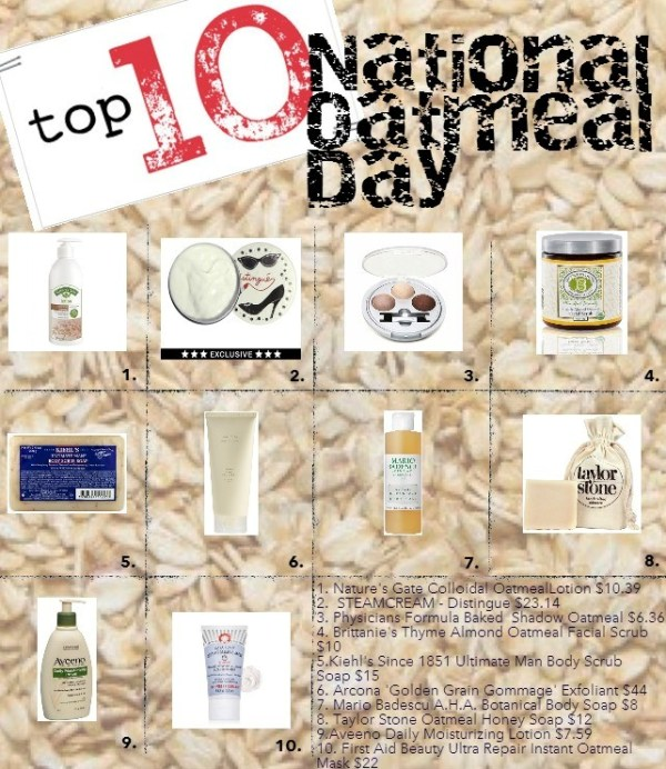 national oatmeal day layout