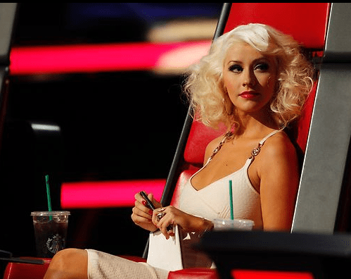 christina aquilera the voice hair november 4