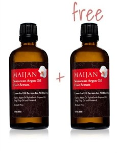 Maijan Moroccan Argan Oil Leave-In Hair Serum