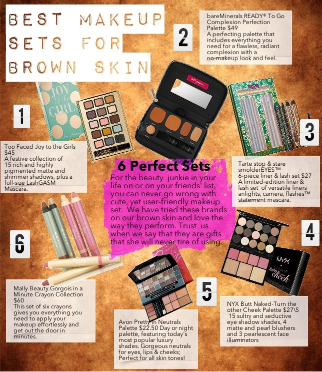 best makeup sets for brown skin palettes layour