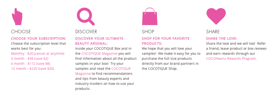 cocotique how it works