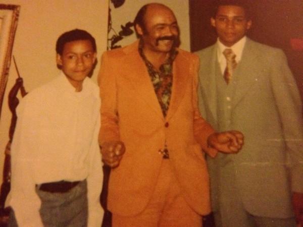 Left to right: Cousin Stuart Ivey, Uncle Fred Ivey, Cousin Vincent Ivey