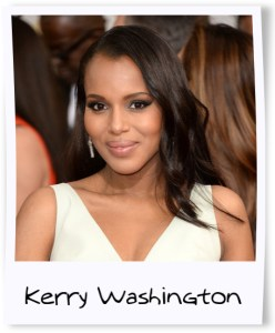Kerry Washington golden globes framed