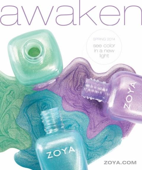 Zoya Awaken Spring 2014 collection