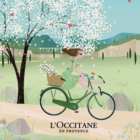 L'Occitane Spring Happy Hour