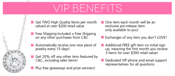 cate and chloe vip subscription box benefits